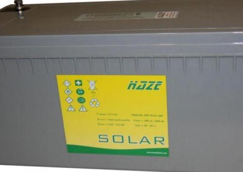 Oficjalny importer i dystrybutor akumulatorów żelowych HAZE Battery
